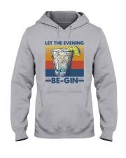 Vintage Let The Evening Begin Shirt Hooded Sweatshirt thumbnail