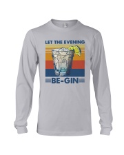 Vintage Let The Evening Begin Shirt Long Sleeve Tee thumbnail