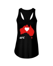Australia Ufc Shirt Ladies Flowy Tank tile