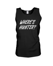 Wheres Hunter Tee Shirt Unisex Tank thumbnail