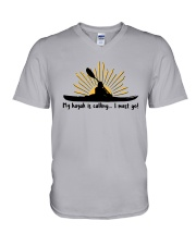 My Kayak Is Calling I Must Go Shirt V-Neck T-Shirt thumbnail