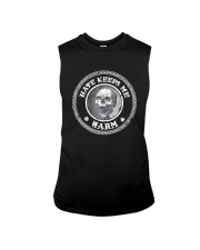 Skull Hate Keeps Me Warm Shirt Sleeveless Tee thumbnail