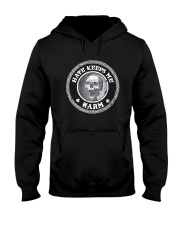 Skull Hate Keeps Me Warm Shirt Hooded Sweatshirt thumbnail