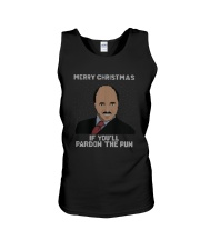 Merry Christmas If You'll Pardon The Pun Shirt Unisex Tank tile