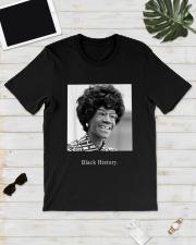 Shirley Chisholm Black History Shirt Classic T-Shirt lifestyle-mens-crewneck-front-17