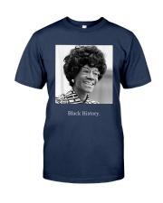 Shirley Chisholm Black History Shirt Classic T-Shirt tile
