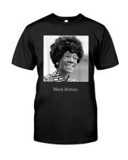 Shirley Chisholm Black History Shirt Premium Fit Mens Tee thumbnail