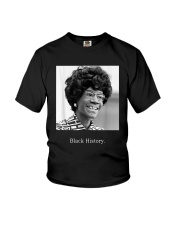 Shirley Chisholm Black History Shirt Youth T-Shirt thumbnail
