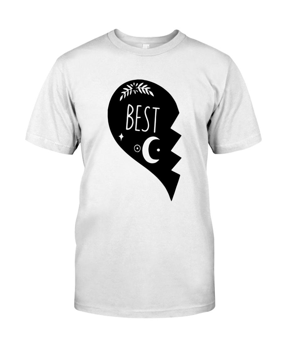 Half Heart Best Shirt Classic T-Shirt