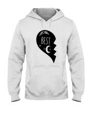 Half Heart Best Shirt Hooded Sweatshirt thumbnail