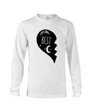 Half Heart Best Shirt Long Sleeve Tee thumbnail