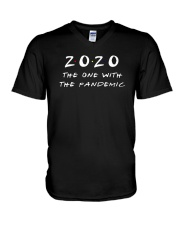 2020 The One With The Pandemic Shirt V-Neck T-Shirt thumbnail