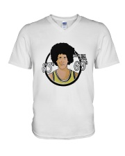 Chevy Chase With The Afro 6 5 6 9 Shirt V-Neck T-Shirt thumbnail