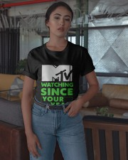 Mtv Watching Since Your Year Shirt Classic T-Shirt apparel-classic-tshirt-lifestyle-05