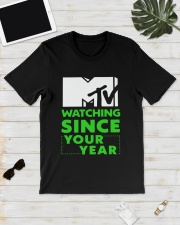 Mtv Watching Since Your Year Shirt Classic T-Shirt lifestyle-mens-crewneck-front-17