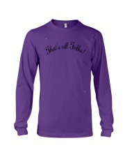 Anthony Davis That's All Folks shirt Long Sleeve Tee thumbnail