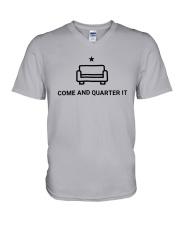Quinta Jurecic Come And Quarter It Shirt V-Neck T-Shirt thumbnail