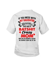 If You Mess With My Daughter Remember Crazy Shirt Youth T-Shirt thumbnail