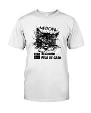 Mi Ropa 20 Algodon 80 Pelo De Gato Shirt Classic T-Shirt front