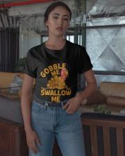 Gobble Me Thanksgiving Shirt Classic T-Shirt apparel-classic-tshirt-lifestyle-05