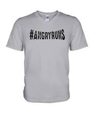 Kyle Brandt Angryruns Shirt V-Neck T-Shirt thumbnail