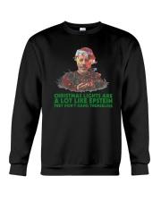 Christmas Lights  A Lot Like Epstein Hang Shirt Crewneck Sweatshirt thumbnail