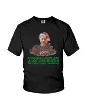 Christmas Lights  A Lot Like Epstein Hang Shirt Youth T-Shirt thumbnail
