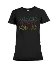 Rico Black Lives Matter Shirt Premium Fit Ladies Tee thumbnail