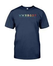 What Would Rbg Do Shirt Classic T-Shirt tile