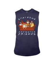 Stay Home And Watch Friends Shirt Sleeveless Tee thumbnail