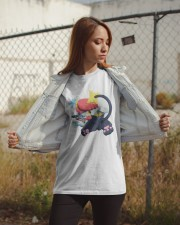 Gingy K Fox Tripped Up Kitty Shirt Classic T-Shirt apparel-classic-tshirt-lifestyle-07