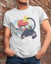 Gingy K Fox Tripped Up Kitty Shirt Classic T-Shirt apparel-classic-tshirt-lifestyle-26