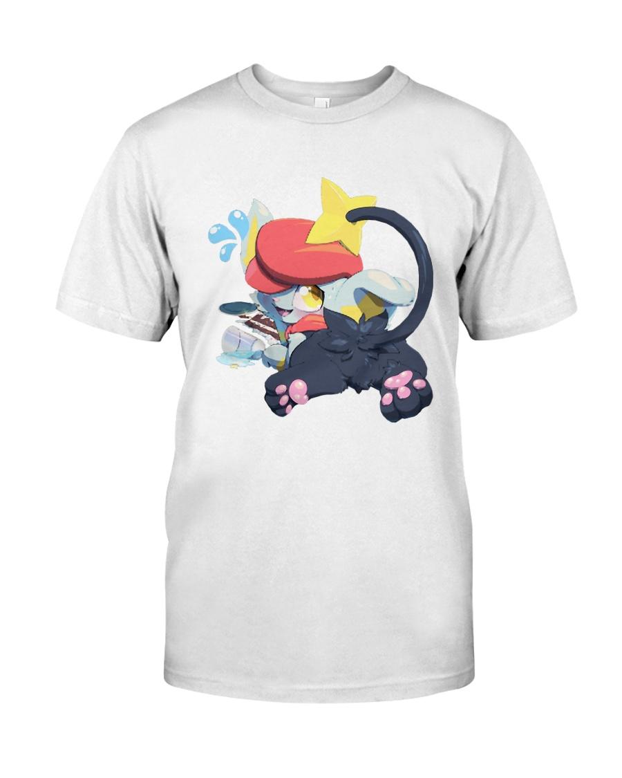 Gingy K Fox Tripped Up Kitty Shirt Classic T-Shirt