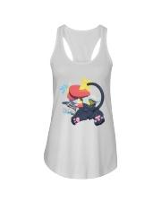 Gingy K Fox Tripped Up Kitty Shirt Ladies Flowy Tank thumbnail