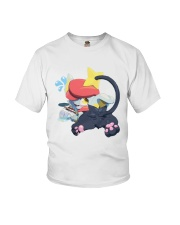 Gingy K Fox Tripped Up Kitty Shirt Youth T-Shirt thumbnail