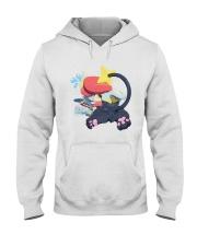 Gingy K Fox Tripped Up Kitty Shirt Hooded Sweatshirt thumbnail
