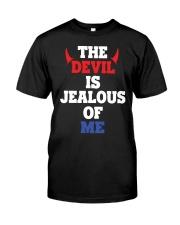 The Devil Is Jealous Of Me T Shirt Classic T-Shirt front