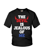 The Devil Is Jealous Of Me T Shirt Youth T-Shirt tile