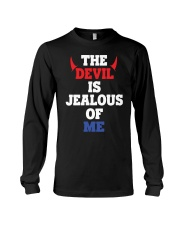 The Devil Is Jealous Of Me T Shirt Long Sleeve Tee tile