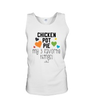 Chicken Pot Pie My 3 Favorite Things Shirt Unisex Tank thumbnail