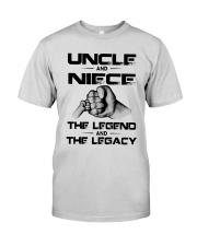 Uncle And Niece The Legend And The Legacy Shirt Premium Fit Mens Tee thumbnail