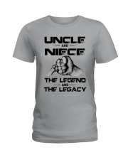 Uncle And Niece The Legend And The Legacy Shirt Ladies T-Shirt thumbnail