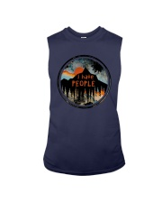 Sunset Forest I Hate People Shirt Sleeveless Tee thumbnail