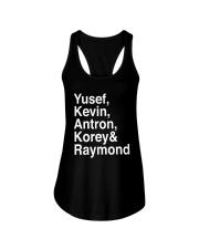 Yusef Kevin Antron Korey and Raymond Shirt Ladies Flowy Tank thumbnail