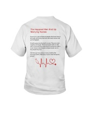The Happiest Men End Up Marrying Nurses Shirt Youth T-Shirt thumbnail
