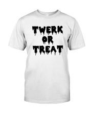 Halloween Twerk Or Treat Shirt Classic T-Shirt front