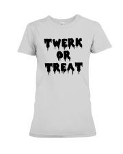 Halloween Twerk Or Treat Shirt Premium Fit Ladies Tee thumbnail