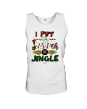 I Put Jiiiing In Jingle Shirt Unisex Tank thumbnail