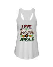 I Put Jiiiing In Jingle Shirt Ladies Flowy Tank thumbnail