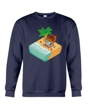 Tom Nook Hawaiian Shirt Crewneck Sweatshirt thumbnail